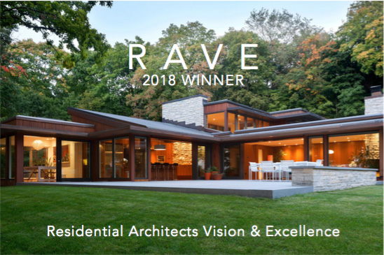 RAVE Award Residential Architects